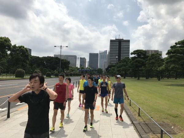 ランナー実践1